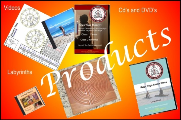 A poster for Kriya Yoga Products