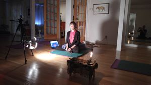 Mantra and Meditation on 11/22/15 IPD staff member.