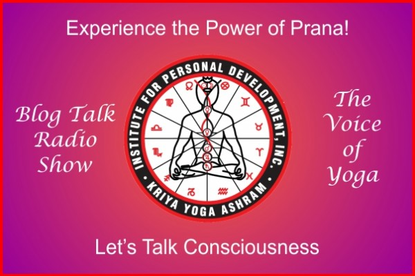 A poster for Kriya Yoga Radio Show on line.