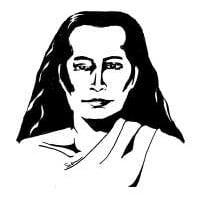 A drawing of Sri Sri Babaji