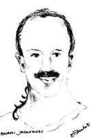 A drawing of Swami Jayananda of the Kriya Yoga Lineage.