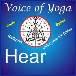 a poster for the radio show on Faith and belief.