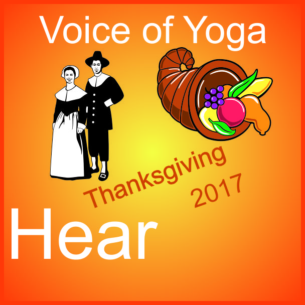 a poster for the radio talk show Thankful: Thanksgiving 2017 Awaken Divine