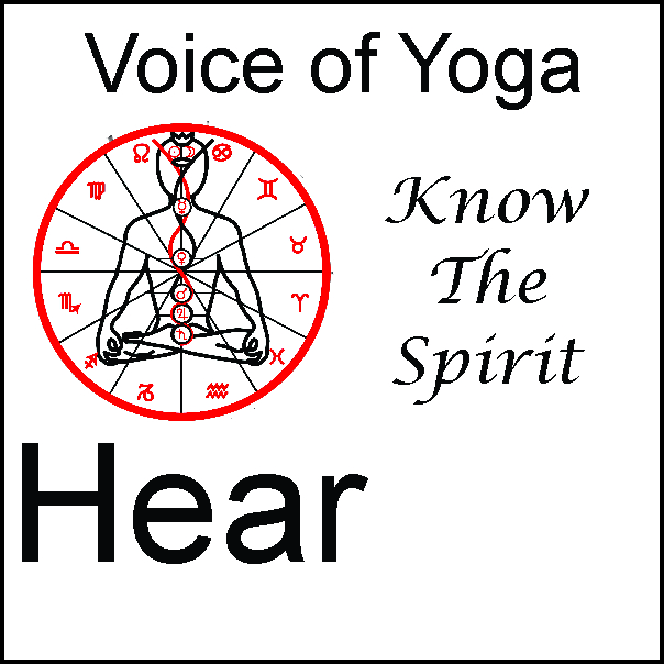 a poster for the radio talk show Spirit and Spiritual Understanding in Kriya Yoga.