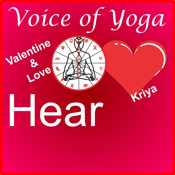 a poster for the radio talk show on Valentine's Day and Divine Love.