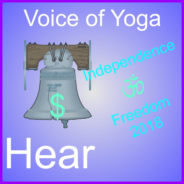 a poster for the radio talk show discussing the topic of Independence 2018.