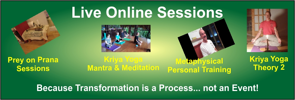 Poster for the Kriya Yoga Online Classes