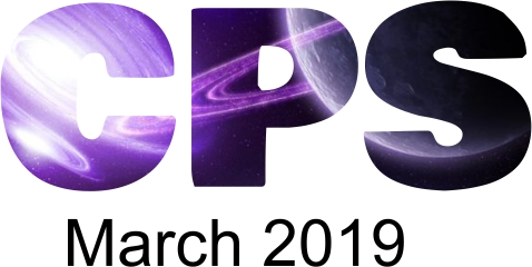 a poster for the CPS March 2019