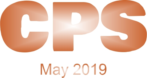 a poster for the CPS May 2019