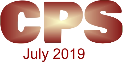 a poster for the CPS July 2019.
