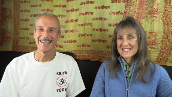 A picture of Lisa and Kenny doing the radio talk show titled The Anatomy of a Divine Healing.