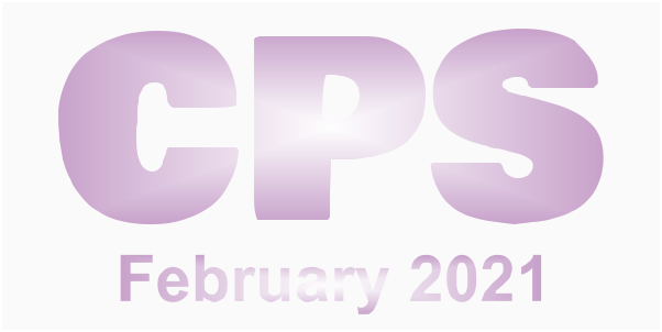 A poster for the CPS February 2021