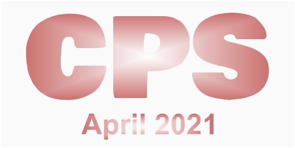 a poster for the CPS April 2021