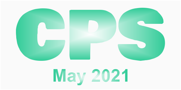 a poster for the CPS May 2021