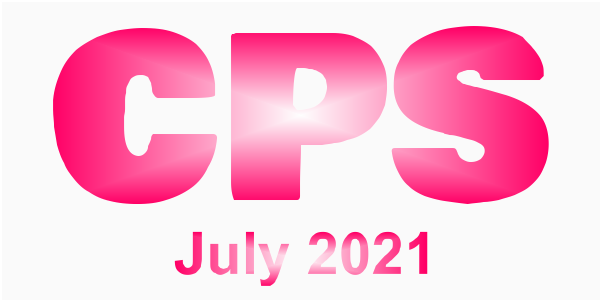 a poster for the CPS July 2021