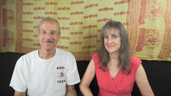 a picture of Lisa and Kenny doing the radio talk show on Know Truth titled Only Truth Can Be Known.