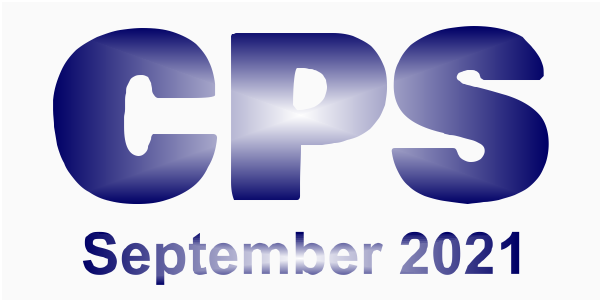 A poster for the CPS September 2021