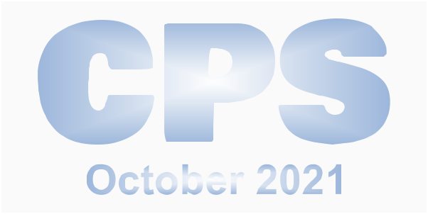 A poster for October CPS 2021
